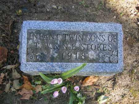 STOKES, INFANT TWIN SONS - Logan County, Ohio | INFANT TWIN SONS STOKES - Ohio Gravestone Photos