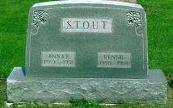 STOUT, DENNIE E - Logan County, Ohio | DENNIE E STOUT - Ohio Gravestone Photos
