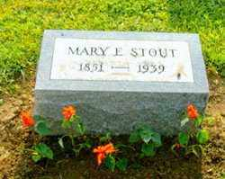 STOUT, MARY E LIZABETH BELL - Logan County, Ohio | MARY E LIZABETH BELL STOUT - Ohio Gravestone Photos