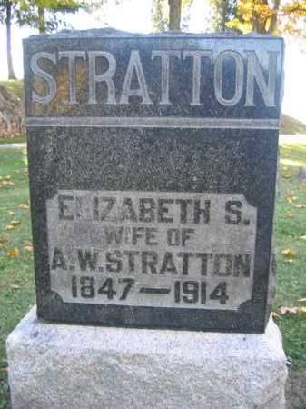 STRATTON, ELIZABETH S. - Logan County, Ohio   ELIZABETH S. STRATTON - Ohio Gravestone Photos