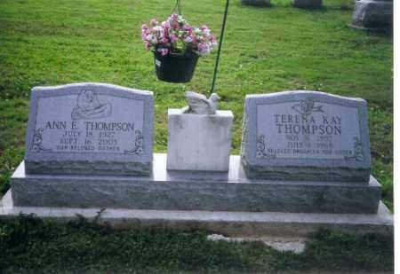 THOMPSON, ANNA M - Logan County, Ohio | ANNA M THOMPSON - Ohio Gravestone Photos