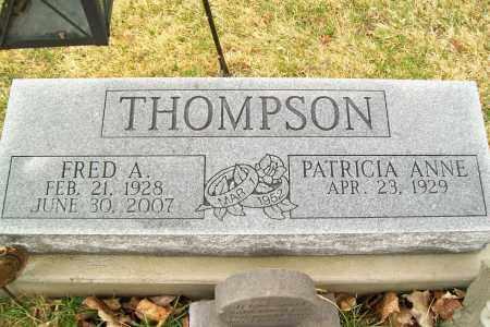 THOMPSON, FRED A. - Logan County, Ohio | FRED A. THOMPSON - Ohio Gravestone Photos
