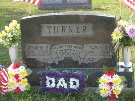 TURNER, KENNETH - Logan County, Ohio | KENNETH TURNER - Ohio Gravestone Photos