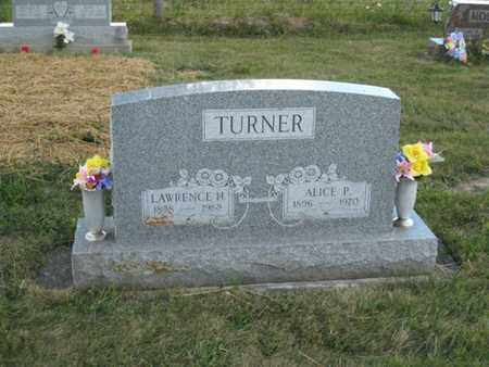 TURNER, ALICE - Logan County, Ohio | ALICE TURNER - Ohio Gravestone Photos