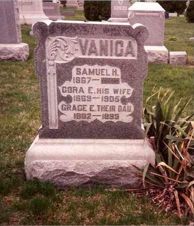 VANICA, GRACE E. - Logan County, Ohio | GRACE E. VANICA - Ohio Gravestone Photos