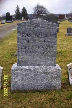 WALCOTT, LEWIS - Logan County, Ohio | LEWIS WALCOTT - Ohio Gravestone Photos