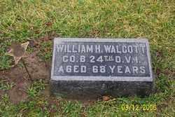 WALCOTT, WILLIAM H - Logan County, Ohio | WILLIAM H WALCOTT - Ohio Gravestone Photos