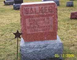 WALKER, MARY A. - Logan County, Ohio   MARY A. WALKER - Ohio Gravestone Photos