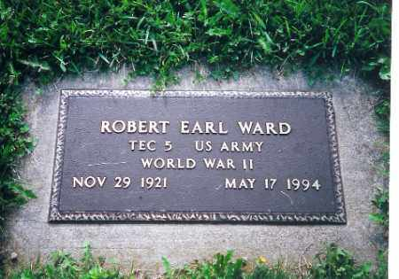 WARD, ROBERT EARL - Logan County, Ohio | ROBERT EARL WARD - Ohio Gravestone Photos