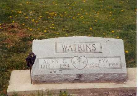 WATKINS, EVA - Logan County, Ohio | EVA WATKINS - Ohio Gravestone Photos