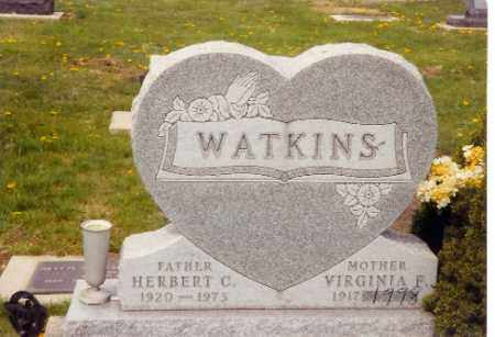 HEMINGER WATKINS, VIRGINIA - Logan County, Ohio | VIRGINIA HEMINGER WATKINS - Ohio Gravestone Photos