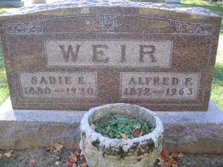 WEIR, SADIE E. - Logan County, Ohio | SADIE E. WEIR - Ohio Gravestone Photos