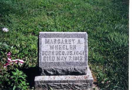 WHEELER, MARGARET A. - Logan County, Ohio   MARGARET A. WHEELER - Ohio Gravestone Photos