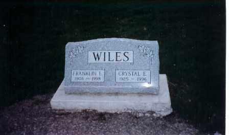 WILES, CRYSTAL E. - Logan County, Ohio   CRYSTAL E. WILES - Ohio Gravestone Photos