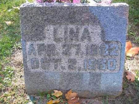 WIRICK, LINA - Logan County, Ohio | LINA WIRICK - Ohio Gravestone Photos