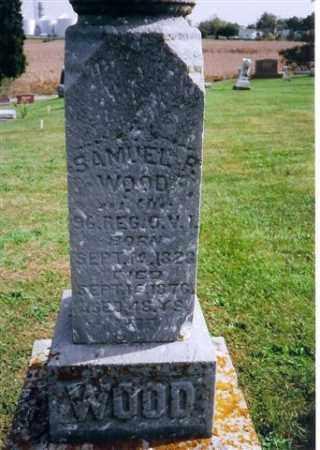 WOOD, SAMUEL R - Logan County, Ohio   SAMUEL R WOOD - Ohio Gravestone Photos