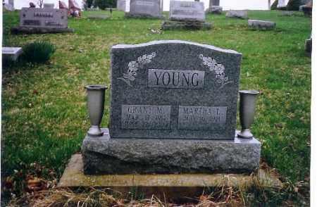 YOUNG, GRANT M. - Logan County, Ohio | GRANT M. YOUNG - Ohio Gravestone Photos