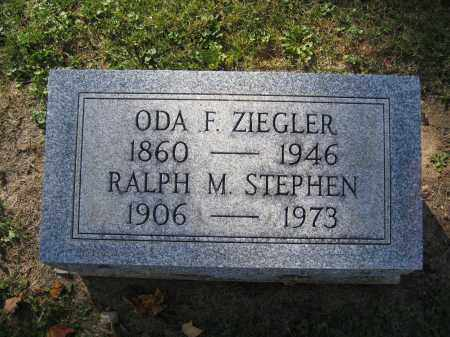 ZIEGLER, ODA F. - Logan County, Ohio | ODA F. ZIEGLER - Ohio Gravestone Photos