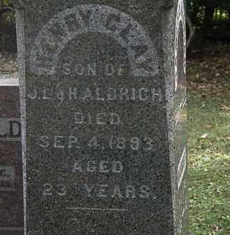 ALDRICH, HENRY CLAY - Lorain County, Ohio | HENRY CLAY ALDRICH - Ohio Gravestone Photos