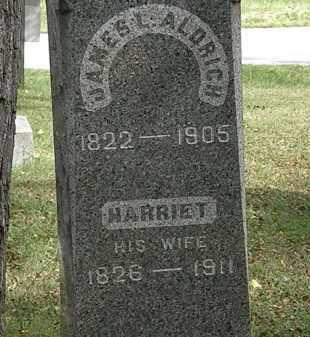 ALDRICH, HARRIETT - Lorain County, Ohio | HARRIETT ALDRICH - Ohio Gravestone Photos