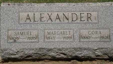 ALEXANDER, MARGARET - Lorain County, Ohio | MARGARET ALEXANDER - Ohio Gravestone Photos