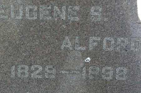 ALFORD, EUGENE S. - Lorain County, Ohio | EUGENE S. ALFORD - Ohio Gravestone Photos