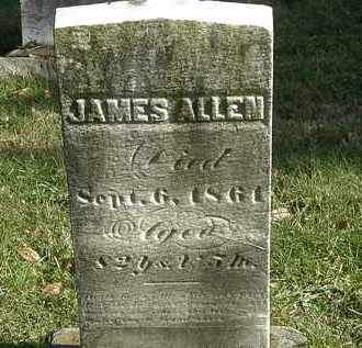 ALLEN, JAMES - Lorain County, Ohio   JAMES ALLEN - Ohio Gravestone Photos