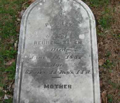 ALLEN, PEARLEY - Lorain County, Ohio | PEARLEY ALLEN - Ohio Gravestone Photos