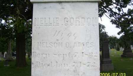 GORDON AMES, NELLIE - Lorain County, Ohio | NELLIE GORDON AMES - Ohio Gravestone Photos