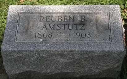 AMSTUTZ, REUBEN B. - Lorain County, Ohio | REUBEN B. AMSTUTZ - Ohio Gravestone Photos