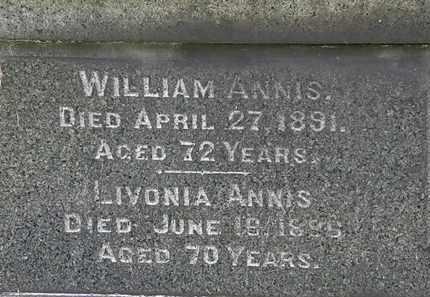 ANNIS, LIVONIA - Lorain County, Ohio | LIVONIA ANNIS - Ohio Gravestone Photos