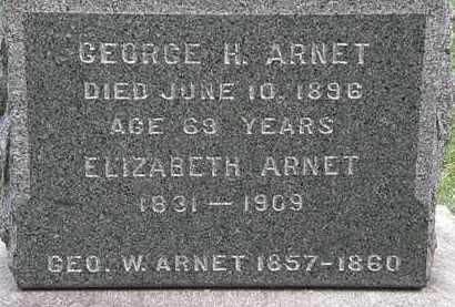 ARNET, GEORGE H. - Lorain County, Ohio | GEORGE H. ARNET - Ohio Gravestone Photos