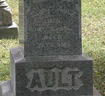 AULT, SIDNEY - Lorain County, Ohio   SIDNEY AULT - Ohio Gravestone Photos