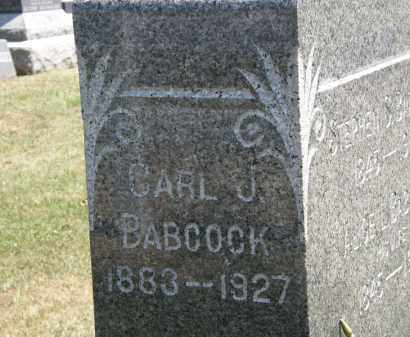 BABCOCK, CARL J. - Lorain County, Ohio | CARL J. BABCOCK - Ohio Gravestone Photos