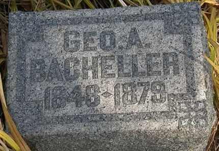 BACHELLER, GEO. A. - Lorain County, Ohio | GEO. A. BACHELLER - Ohio Gravestone Photos