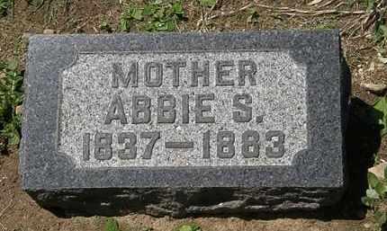BACON, ABBIE S. - Lorain County, Ohio   ABBIE S. BACON - Ohio Gravestone Photos