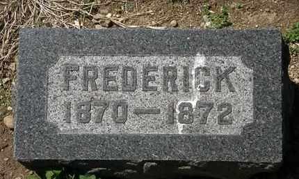 BACON, FREDERICK - Lorain County, Ohio | FREDERICK BACON - Ohio Gravestone Photos