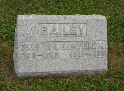 BAILEY, CHARLES H. - Lorain County, Ohio   CHARLES H. BAILEY - Ohio Gravestone Photos