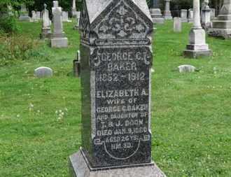 BOON BAKER, ELIZABETH A. - Lorain County, Ohio | ELIZABETH A. BOON BAKER - Ohio Gravestone Photos
