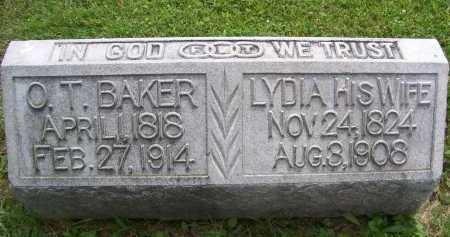 BAKER, O.T. - Lorain County, Ohio | O.T. BAKER - Ohio Gravestone Photos