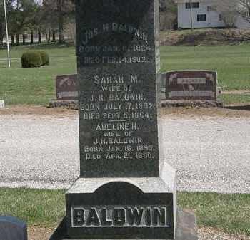 BALDWIN, ADELINE H. - Lorain County, Ohio | ADELINE H. BALDWIN - Ohio Gravestone Photos