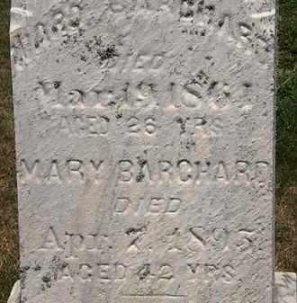 BARCHARD, MARY - Lorain County, Ohio | MARY BARCHARD - Ohio Gravestone Photos