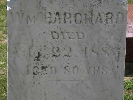 BARCHARD, WM. - Lorain County, Ohio | WM. BARCHARD - Ohio Gravestone Photos