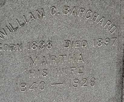 BARCHARD, MARTHA - Lorain County, Ohio | MARTHA BARCHARD - Ohio Gravestone Photos