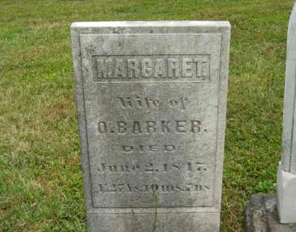 BARKER, MARGARET - Lorain County, Ohio | MARGARET BARKER - Ohio Gravestone Photos
