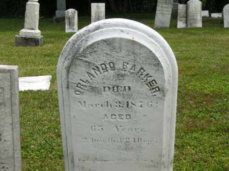 BARKER, ORLANDO - Lorain County, Ohio | ORLANDO BARKER - Ohio Gravestone Photos