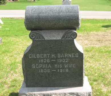 BARNES, GILBERT H. - Lorain County, Ohio   GILBERT H. BARNES - Ohio Gravestone Photos