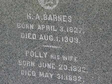 BARNES, POLLY - Lorain County, Ohio | POLLY BARNES - Ohio Gravestone Photos