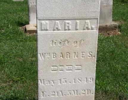 BARNES, WM. - Lorain County, Ohio   WM. BARNES - Ohio Gravestone Photos