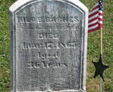 BARNES, MILO B. - Lorain County, Ohio | MILO B. BARNES - Ohio Gravestone Photos